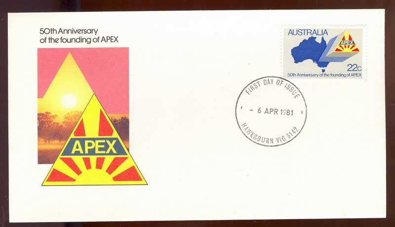 Australia 1981 APEX FDC Lot14074
