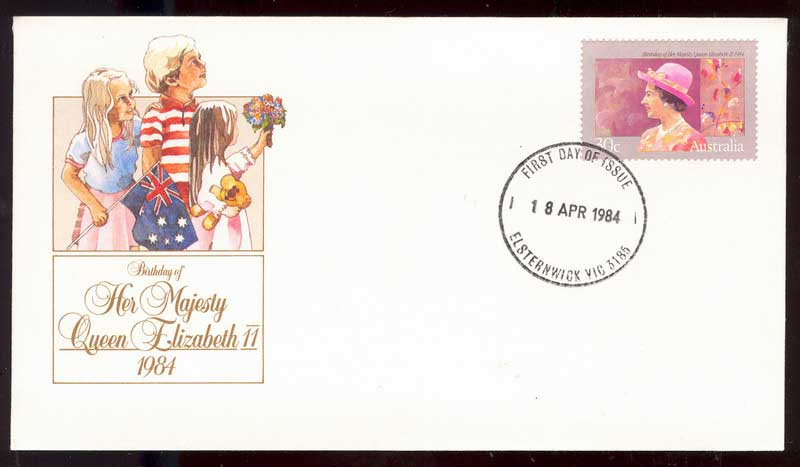 Australia 1984 Queens Birthday FDC Lot14090