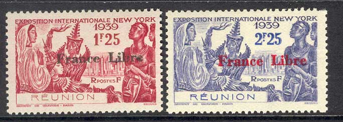 Reunion 1939 New York Fair Opt MH Lot14465