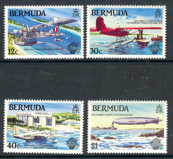 Bermuda 1983 Flight Bicentenary MUH 14665