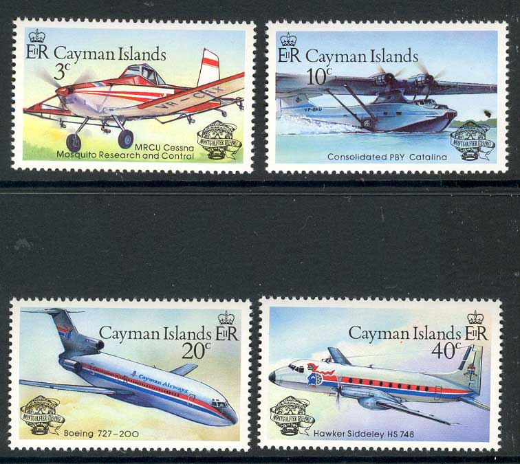Cayman Is 1983 Flight Bicentenary MUH 14668