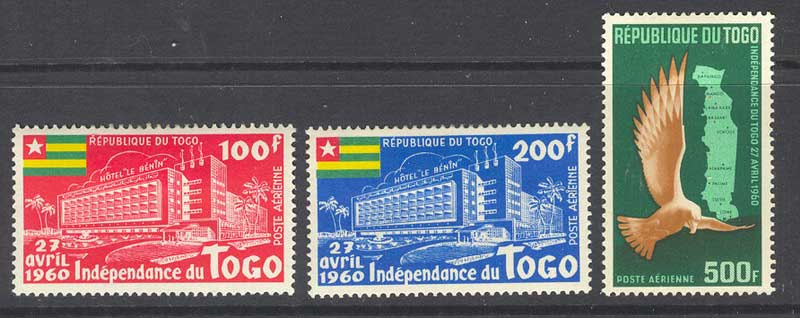 Togo 1960 Independence MLH 14688