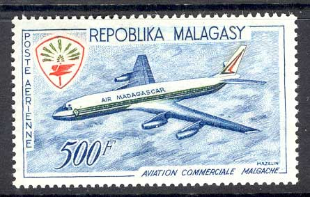 Malagasy Rep 1963 Turbojet Airliner MLH Lot14725