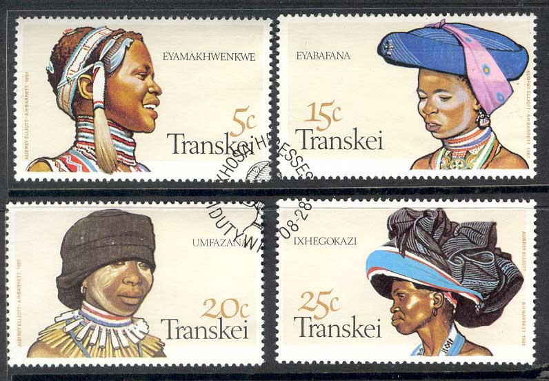 Transkei 1981 Xhosa Headdresses FU Lot14784
