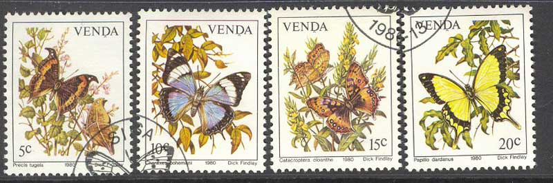 Venda 1980 Butterflies FU Lot14878