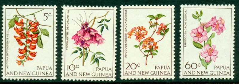 PNG 1966 Flowers MUH Lot15156