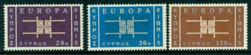Cyprus 1963 2nd Europa MH Lot15306