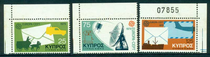 Cyprus 1979 Europa Corner MUH Lot15328 - Click Image to Close