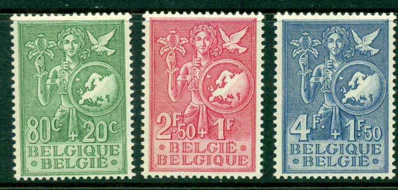 Belgium 1953 Childhood & Youth MLH Lot15345