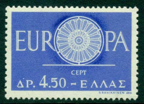 Greece 1960 Europa MLH Lot15380