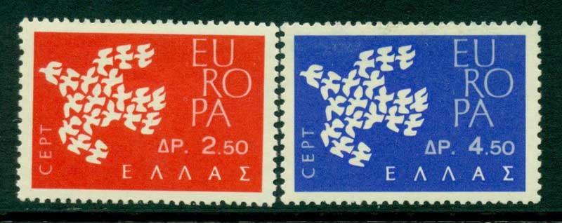 Greece 1961 Europa MUH Lot15381