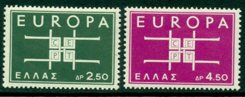 Greece 1963 Europa MUH Lot15383