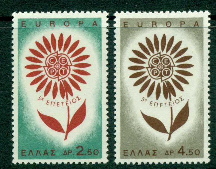 Greece 1964 Europa MUH Lot15385