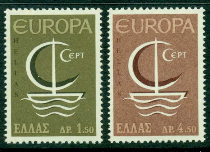 Greece 1966 Europa MUH Lot15387
