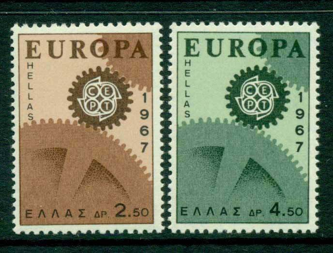 Greece 1967 Europa MUH Lot15388
