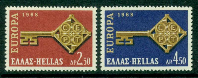 Greece 1968 Europa MUH Lot15389
