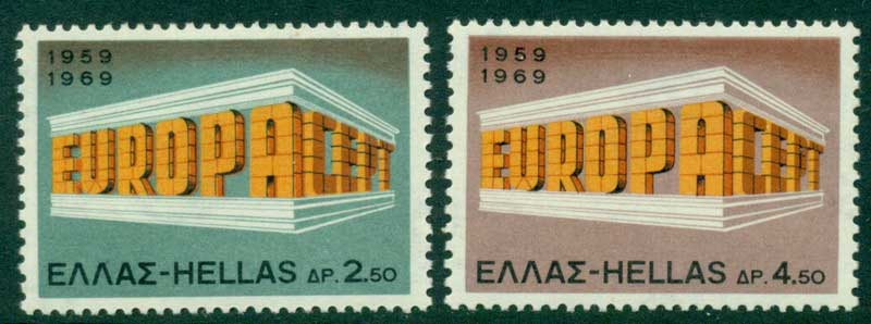 Greece 1969 Europa MUH Lot15390