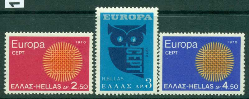 Greece 1970 Europa MUH Lot15391
