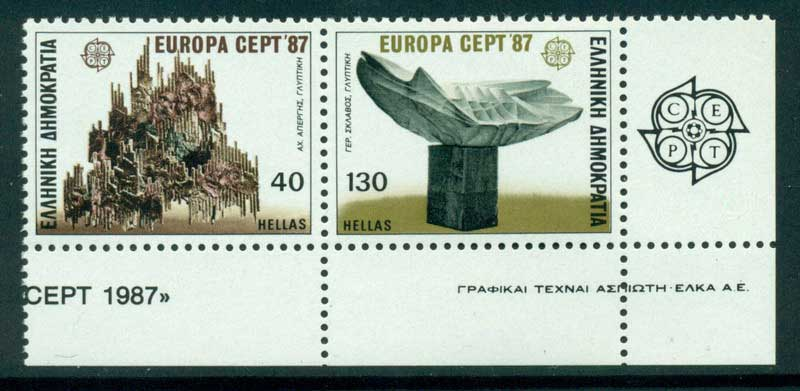 Greece 1987 Europa Pair MUH Lot15415