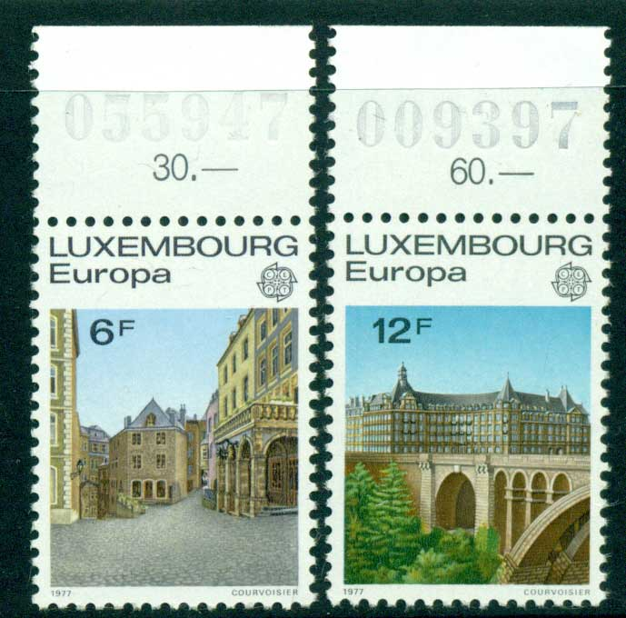 Luxembourg 1977 Europa MUH Lot15441 - Click Image to Close