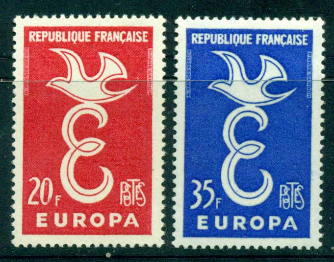 France 1958 Europa MUH Lot15457