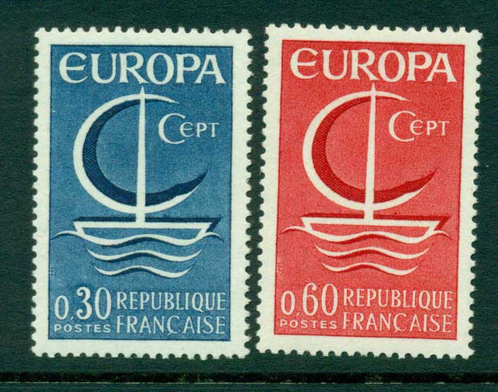 France 1966 Europa MUH Lot15465