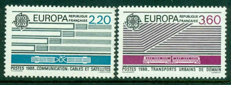 France 1988 Europa MUH Lot15491