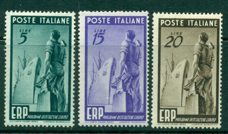 Italy 1949 European Recovery MLH Lot15496