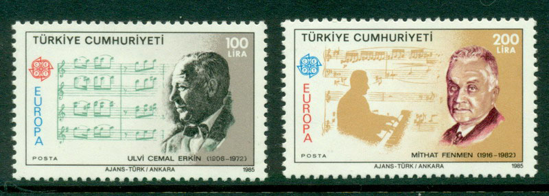 Turkey 1985 Europa MUH Lot15559