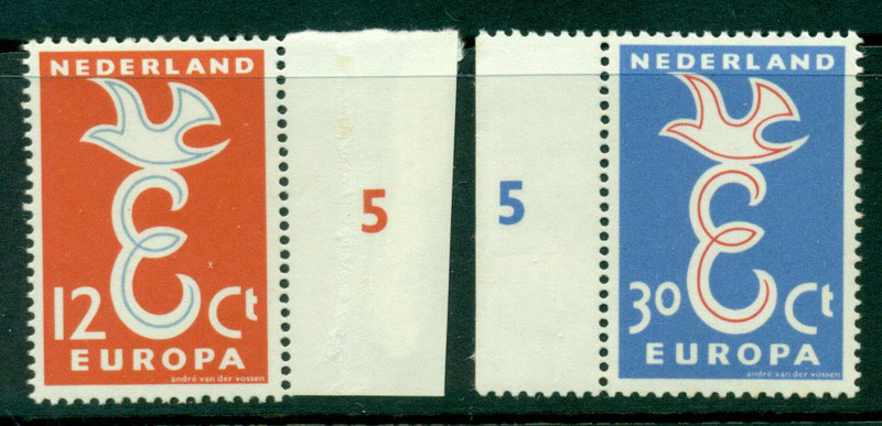 Netherlands 1958 Europa MUH Lot15567