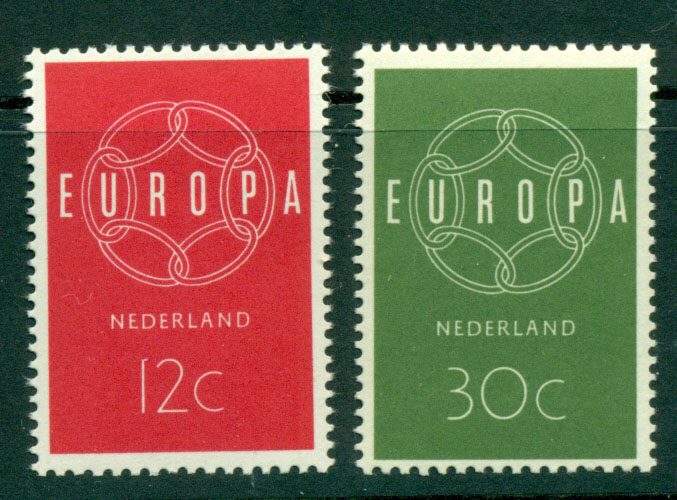 Netherlands 1959 Europa MUH Lot15568