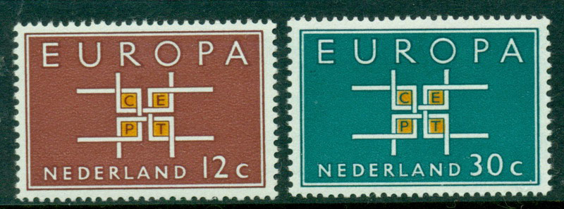 Netherlands 1963 Europa MUH Lot15572