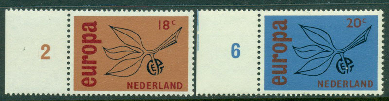 Netherlands 1965 Europa MUH Lot15575