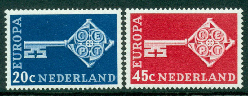Netherlands 1968 Europa MUH Lot15579