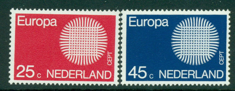 Netherlands 1970 Europa MUH Lot15581