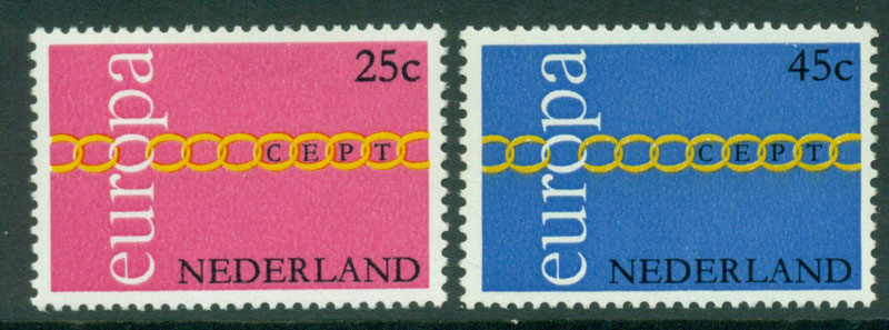 Netherlands 1971 Europa MUH Lot15582