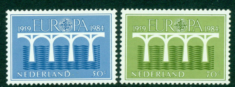 Netherlands 1984 Europa P13.5 x 13 MUH Lot15592