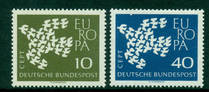 Germany 1961 Europa MUH Lot15602