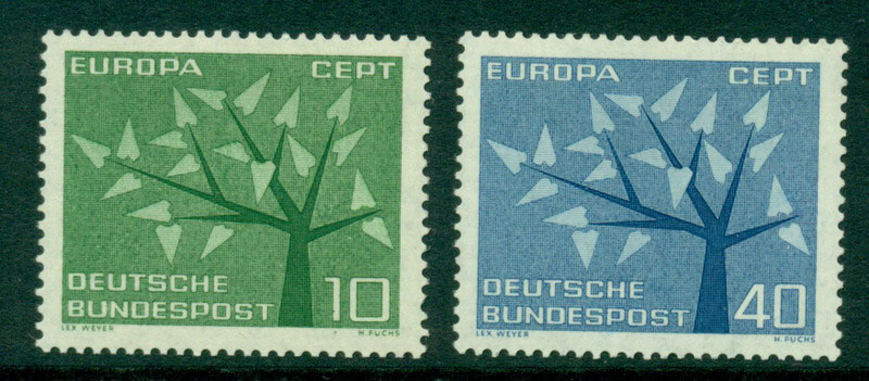 Germany 1962 Europa MUH Lot15603