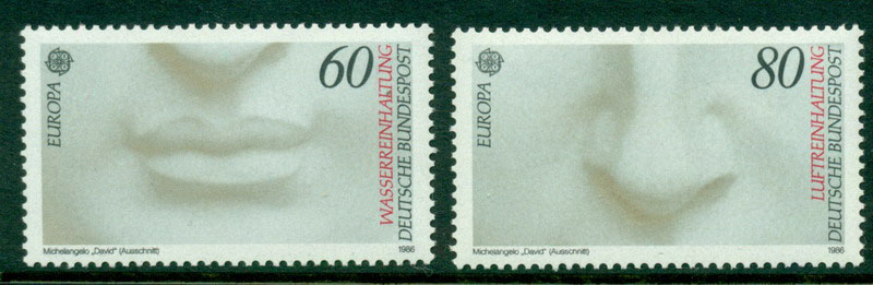 Germany 1986 Europa MUH Lot15627