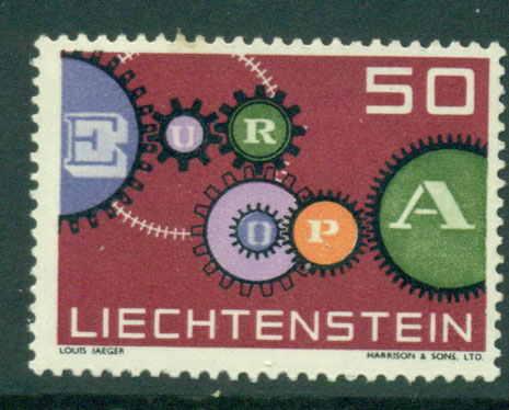 Liechtenstein 1961 Europa MUH Lot15778