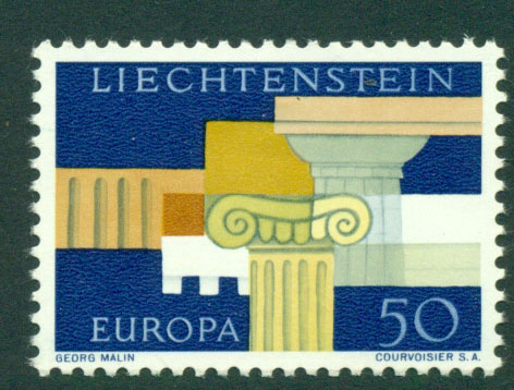 Liechtenstein 1963 Europa MUH Lot15780