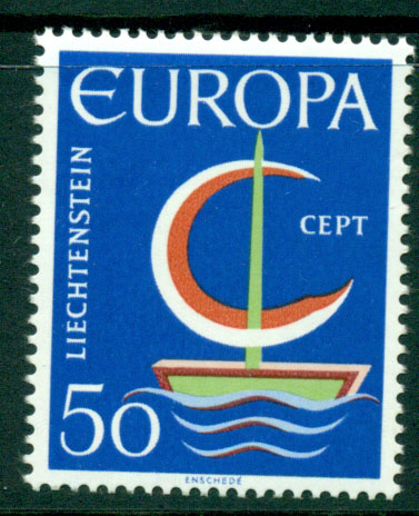 Liechtenstein 1966 Europa MUH Lot15783