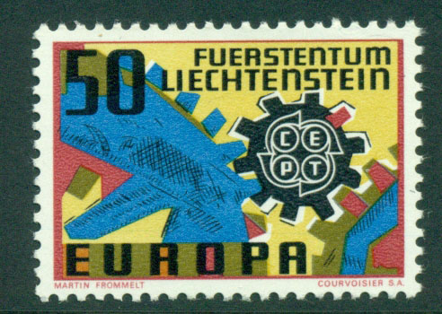Liechtenstein 1967 Europa MUH Lot15784