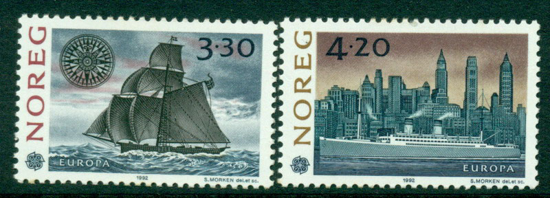 Norway 1992 Europa MUH Lot15833
