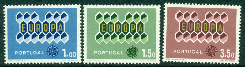 Portugal 1962 Europa MUH Lot15836