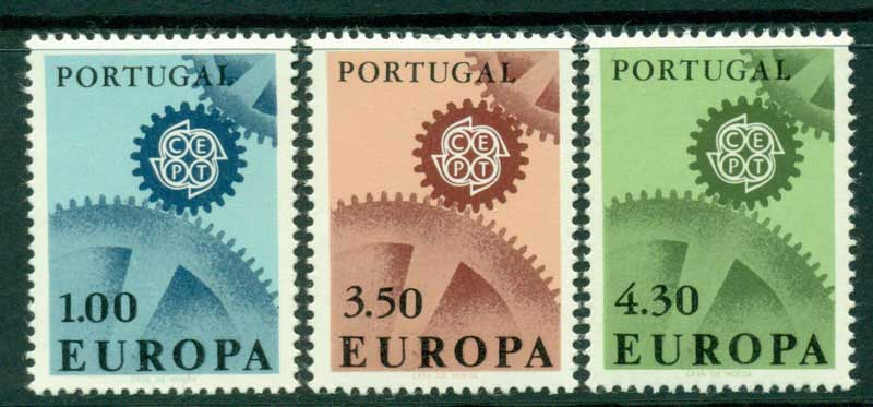 Portugal 1967 Europa MUH Lot15841