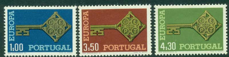 Portugal 1968 Europa MUH Lot15842