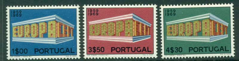 Portugal 1969 Europa MUH Lot15843