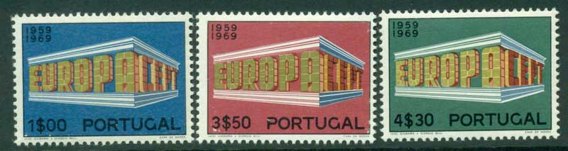 Portugal 1969 Europa MLH Lot15844